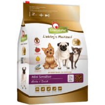 GranataPet sensitive kacsa kistermetű kutyatáp