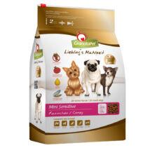 GranataPet sensitive nyúl kistermetű kutyatáp